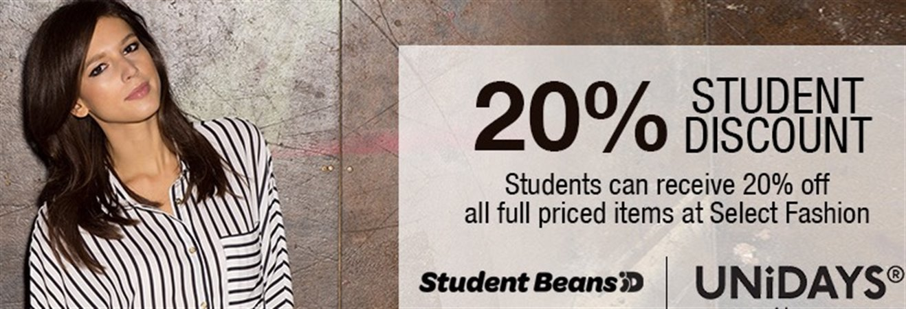 Student Discount at Select
