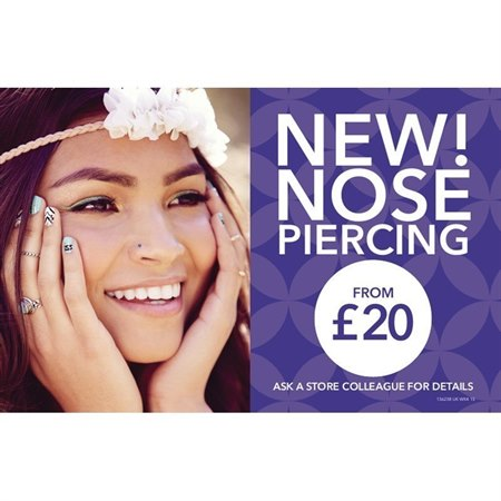Nose & Ear Piercing at Claire's