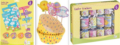 Easter Arrives at Poundland