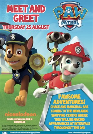 Meet our Paw Patrol characters
