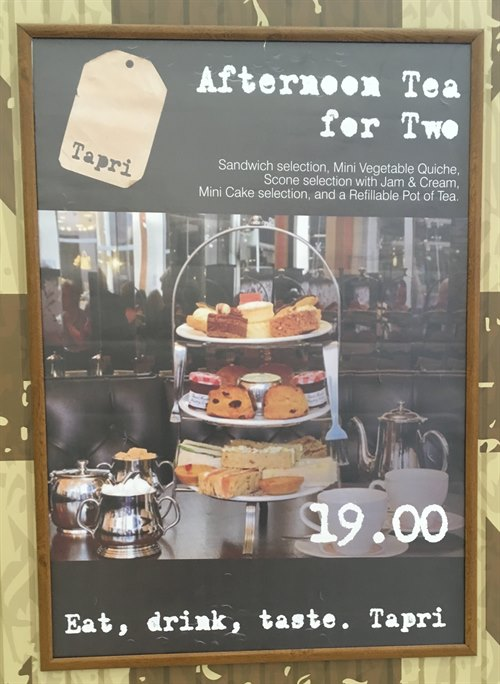 Tapri Shop - Afternoon Tea for Two £19.00